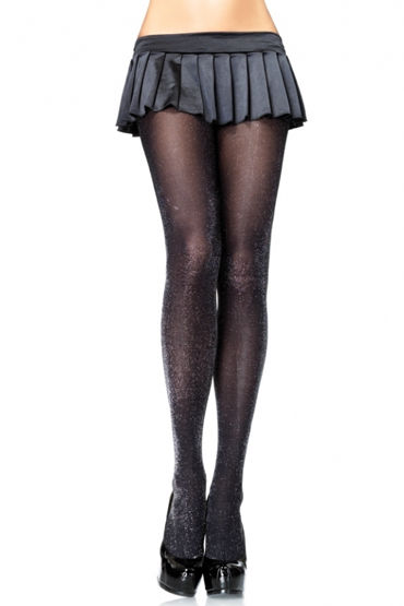 Leg Avenue колготки, черные Блестящие и livia corsetti chantelle