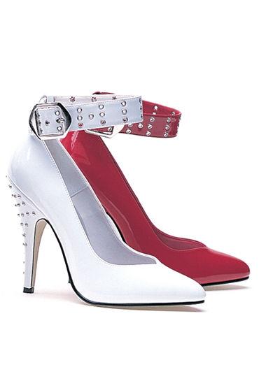 Ellie Shoes Anita, красный Туфли с заклепками, каблук 12,7 см узкие черные наручники