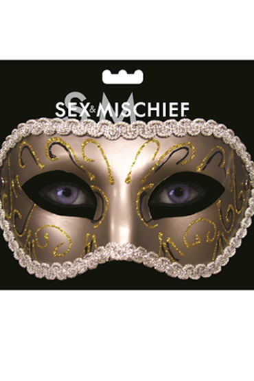 Sex & Mischief Masquerade Mask Роскошная маска hjnbxtcrbt маски sex mischief s