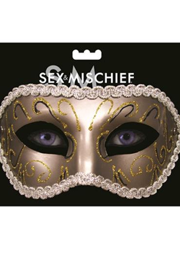 Sex & Mischief Masquerade Mask Роскошная маска sex mischief feathered nipple clamps