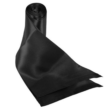 Sex & Mischief Silky Sash Restraint, черный Ленты для связывания hjnbxtcrbt маски sex mischief 6