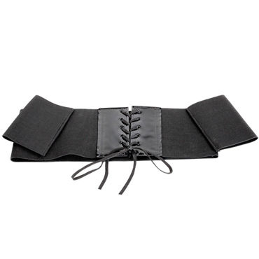 Sex & Mischief Elastabind Corset Restraint Пояс-корсет с напульсниками sex mischief feather slapper