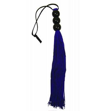 Sex & Mischief Small Whip, фиолетовый C латексными хвостами, 25 см hjnbxtcrbt маски sex mischief s