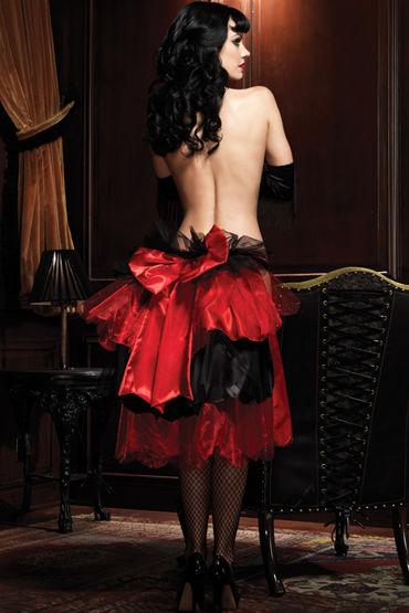 Leg Avenue юбка-турнюр С большим бантом