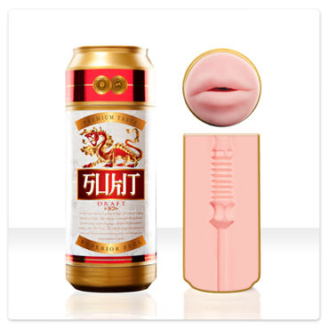 FleshLight Sukit Draft Ротик-мастурбатор в банке maison close rue des demoiselles body string