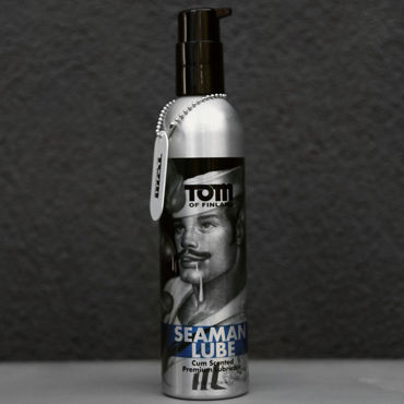 Tom of Finland Seaman Lube, 236 мл Лубрикант с запахом спермы tom of finland pleasure tools cleaner 473 мл спрей для очистки игрушек