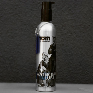 Tom of Finland Water Based Lube, 236 мл Лубрикант на водной основе tom of finland pleasure tools cleaner 473 мл спрей для очистки игрушек