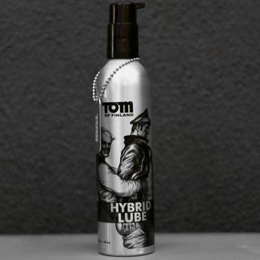 Tom of Finland Hybrid Lube, 236 мл Лубрикант на водно-силиконовой основе hot silk glide 50 мл увлажняющая смазка на силиконовой основе