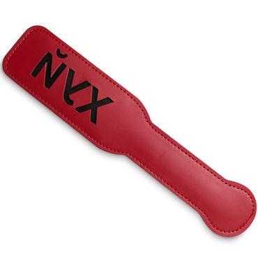 Пикантные штучки Шлепалка Йух, красная Оставляющая красноречивый след на теле страпоны и фаллопротезы для мужчин длина 16 18 см