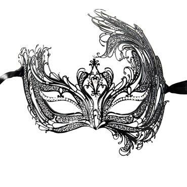 Luna Veneziana Catia Венецианская маска с кристаллами Swarovski чулки doctor one size белый