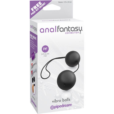 Pipedream Anal Fantasy Collection Vibro Balls Анальные шарики, пластиковые lifestyles topic in english