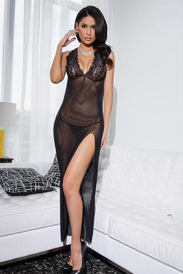 Coquette эротичное платье, черный С кружевным лифом и обнаженной спиной ruf hot sex girl drops 20 мл капли для женщин
