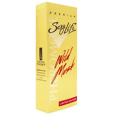 Sexy Life Wild Musk №2 Versace Eros, 10 мл Мужской парфюм с мускусом и двойным содержанием феромонов sexy life musk