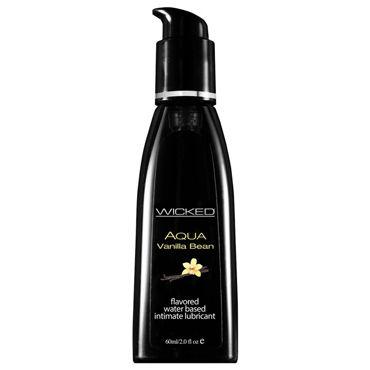 Wicked Aqua Vanilla Bean, 60 мл С ароматом ванильных бобов ovo r1 виброяйцо фиолетовое на дистанционном управлении