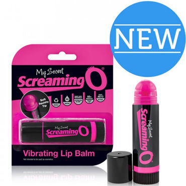 Screaming O Vibrating Lip Balm, розовый
