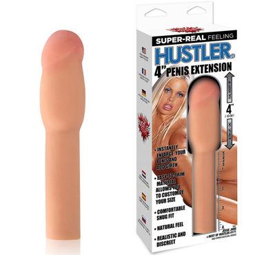 Hustler Насадка Jesse Jane by Hustler, телесный Для увеличения члена на 10 см hustler cherry temptation