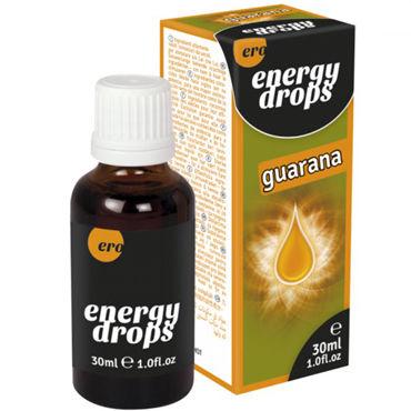Hot Energy Drops Guarana, 30 мл Капли для мужчин и женщин energy