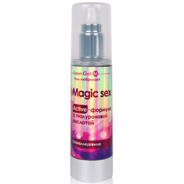 Bioritm LoveGel Magic Sex, 55 гр Гель-любрикант с гиалуроновой кислотой shiatsu luxury body oil strawberry 100 vk а