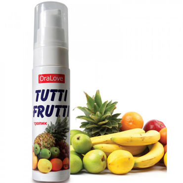Bioritm OraLove Tutti-Frutti тропик, 30 гр Гель для орального секса гель tutti frutti тропик серии oralove 30г
