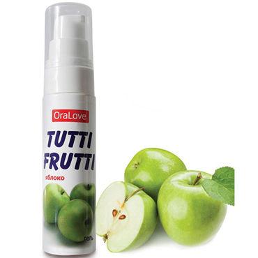 Bioritm OraLove Tutti-Frutti яблоко, 30 гр Гель для орального секса гель tutti frutti тропик серии oralove 30г