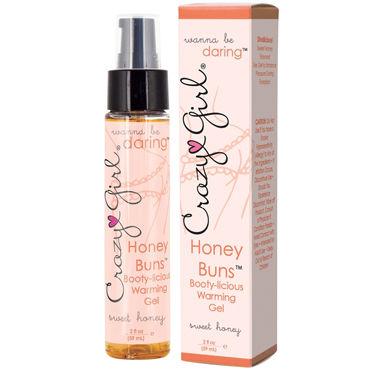 Crazy Girl Honey Buns, 59 мл Съедобный гель с разогревающием эффектом серая насадка reach для revel body