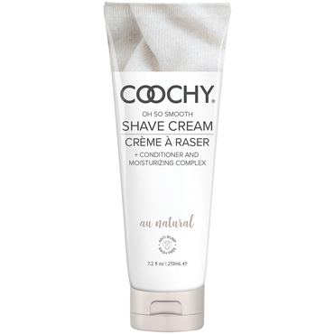 Coochy Oh So Smooth Shave Cream Au Natural, 213 мл Увлажняющий комплекс без аромата набор fetish fantasy limited edition silky seduction kit черный