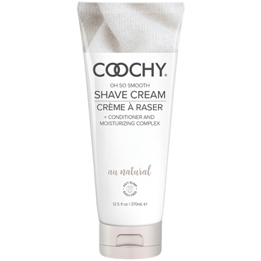 Coochy Oh So Smooth Shave Cream Au Natural, 370 мл Увлажняющий комплекс без аромата classic erotica body dew oh so sexy original 236мл масло для тела с феромонами