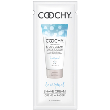 Classic Erotica Coochy Oh So Smooth Shave Cream Be Original, 15 мл Увлажняющий комплекс ароматизированный brand new pu 7 footcuff 1094