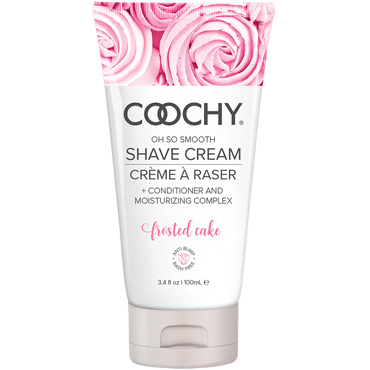 Coochy Oh So Smooth Shave Cream Frosted Cake, 100 мл Увлажняющий комплекс ароматизированный coochy oh so smooth shave cream frosted cake 15 мл увлажняющий комплекс ароматизированный