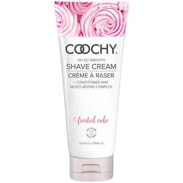 Coochy Oh So Smooth Shave Cream Frosted Cake, 370 мл Увлажняющий комплекс ароматизированный coochy oh so smooth shave cream frosted cake 15 мл увлажняющий комплекс ароматизированный