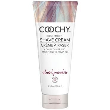 Coochy Oh So Smooth Shave Cream Island Paradise, 370 мл Увлажняющий комплекс ароматизированный презервативы durex sensation 12 шт