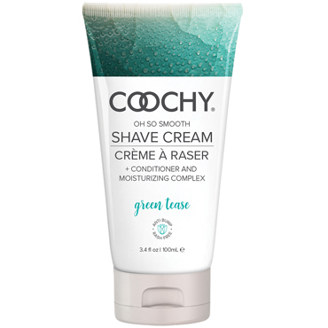 Coochy Oh So Smooth Shave Cream Green Tease, 100 мл Увлажняющий комплекс ароматизированный ideal animal delight розовый ротатор со стимуляцией клитора