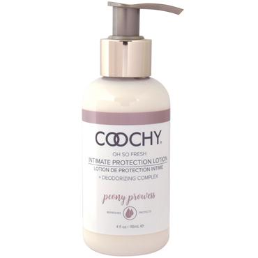 Coochy Intimate Protection Lotion Peony Prowess, 118 мл Защищающий лосьон с эффектом пудры you2toys jelly сиреневый гибкий анальный вибратор