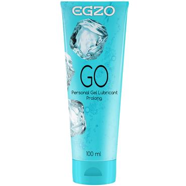 Egzo Go, 100 мл Лубрикант пролонгирующий на водной основе casmir dallas set черный бюстгальтер пояс и трусики