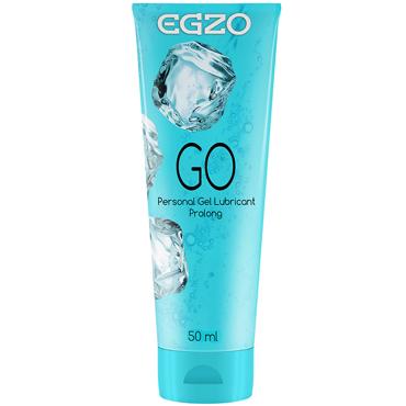 Egzo Go, 50 мл Лубрикант пролонгирующий на водной основе egzo wow 50 мл лубрикант классический на водной основе