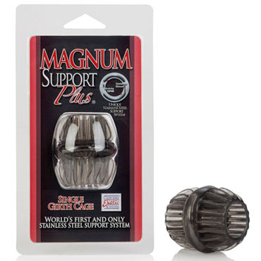 California Exotic Magnum Support Plus Single Girth Cages, серое