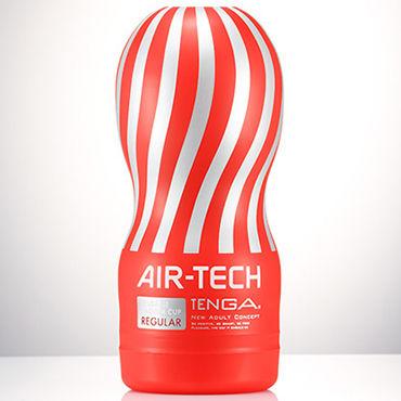 Tenga Air-Tech Regular Мастурбатор с классическим рельефом, создающий ощущение глубокого минета tenga air tech twist ripple многоразовый мастурбатор с регулируемой степенью сжатия для деликатной стимуляции