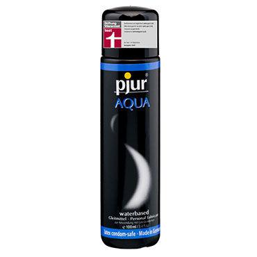 Pjur Aqua, 100 мл Сверхмягкий увлажняющий лубрикант pjur med premium glide 4 мл гипоаллергенный силиконовый лубрикант