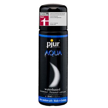 Pjur Aqua, 30 мл Сверхмягкий увлажняющий лубрикант soft line трусики белые с ажурным узором