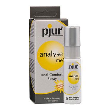 Pjur Analyse Me, 20 мл Обезболивающий анальный спрей hot cilitoris creme stimulating 30мл стимулирующий крем для женщин