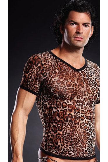 Blue Line футболка, леопардовая С V-образным вырезом футболка базовая с u образным вырезом