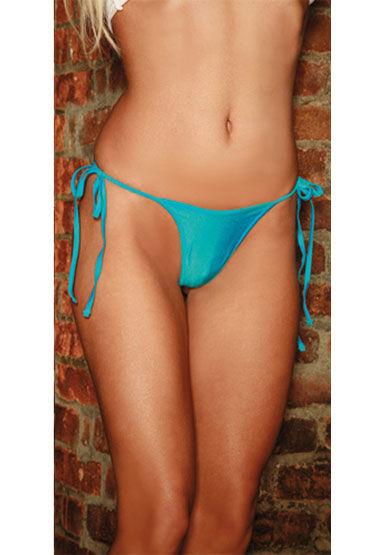 Electric Lingerie стринги, голубые Неоновые, на боковых завязках electric lingerie комплект