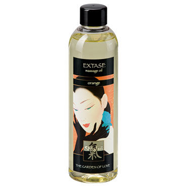 Shiatsu Oil Extase Orange, 250 мл Массажное масло апельсин baci dreams pastee midnight flower что это