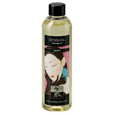 Shiatsu Oil Sensual Jasmin, 250 мл Массажное масло жасмин obsessive f215 черный боди комбинезон с доступом