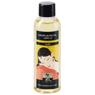 Shiatsu Luxury Body Oil Vanilla, 100 мл