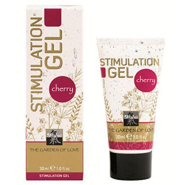 Shiatsu Stimulation Gel Cherry, 30мл Стимулирующий гель с ароматом вишни shiatsu гель для ванны и душа с ароматом дикой орхидеи 400 мл