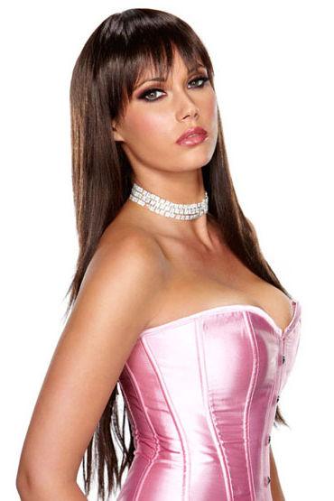 Erotic Fantasy Chocolate Lavish Длинная стрижка с челкой erotic fantasy scarlet lavish парик с градуированной стрижкой