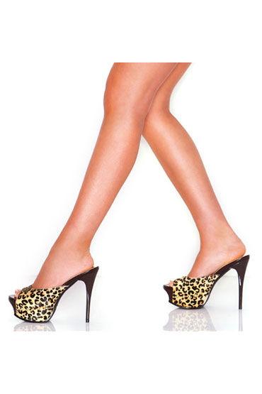Hustler Wild Jaguar Сабо из шкурки ягуара сексуальные комплекты белья hustler