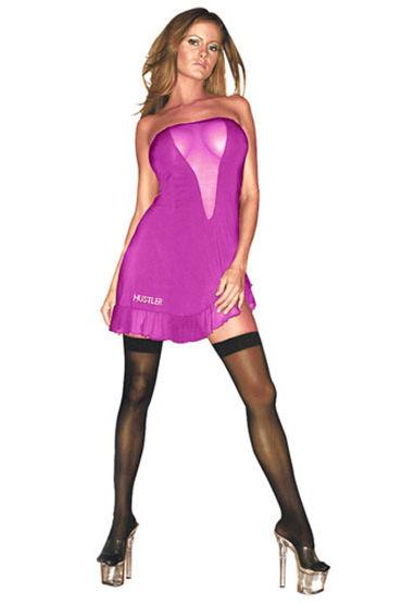 Hustler платье, розовое Без бретелей seven til midnight фартук розовый из роскошного кружева