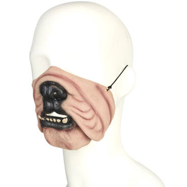 Lux Fetish Dog Mask В виде собаки pipedream anal fantasy collection rectal rocket анальный вибратор